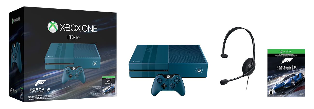 XboxOne-1TBConsole-Forza6-US-CAN-Groupshot-RGB-png